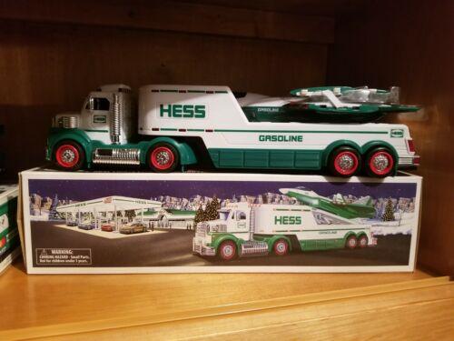 2010 HESS TRUCK TOY TRUCK & JET W/ BOX - MIB