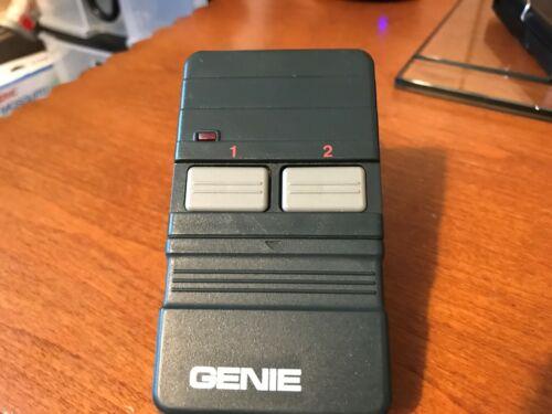 Genie GT90-2 Garage Door Opener Remote Control Controller Dip Switch 2 Button