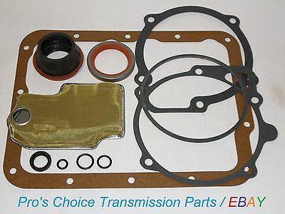 (***COMPLETE*** External Reseal Kit with Oil Pump Filter---Fits FMX Transmissions)