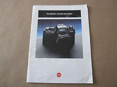 Винтажные книги Vintage Leica R5 Verstile