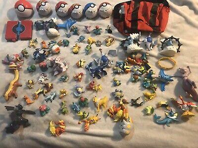 Vintage Pokemon, Large Lot Mixed Pokémon Figures & Toys.