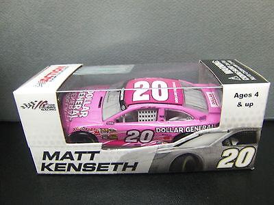 Rare Matt Kenseth 2013 Pink Dollar General  20 Camry 1 64 Nascar