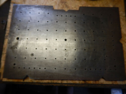 SETUP PLATE WITH V GROOVES FROM A TOOL AND GAGE MACHINE SHOP  MACHINIST TOOL