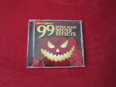 Drew's Famous - 99 Super Scary Sound Effects CD Halloween](Super Scary Halloween Music)