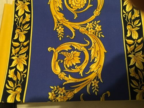 $300 VERSACE Medusa blue PILLOW CASE FOR KING BED  NEW DISCONTINUED RARE 1 Only
