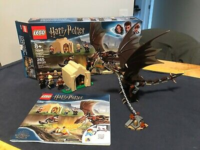 LEGO Harry Potter 75946 Hungarian Horntail Triwizard Challenge COMPLETE box book
