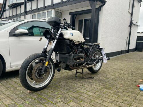 BMW K100RS CAFE PROJECT RAT ROD MOTORCYCLE RACER + Parts and spares