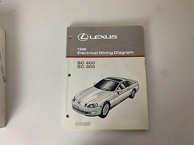 shop manual lexus sc400 sc300 electrical wiring diagram 1998 schematic sc  400 other car manuals