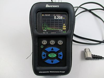 Danatronics Ehc-09dlcw Ultrasonic Thickness Gauge Flaw Detector Ndt Ge Olympus