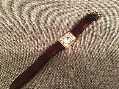 TIMEX Wrist Watch New Battery Leather Band Analog
