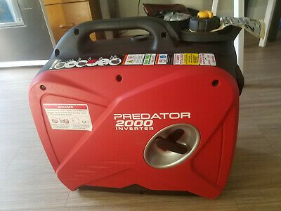 Predator 2000 Watt Super Quiet Inverter Generator