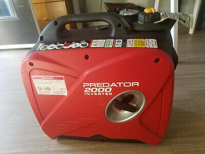 Predator 2000 Watt Super Quiet Inverter Generator