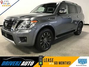 2017 Nissan Armada Platinum CLEAN CARFAX, LOADED WITH REAR DVDs