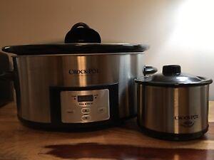 Mijoteuse Crock-Pot et  Le réchaud Little Dipper