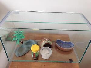 Crazy (hermit) crab tank, accessories and heat mat Hocking Wanneroo Area Preview