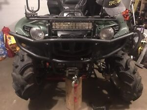 Yamaha Grizzly front bush guard