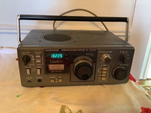 Vintage Kenwood R-1000Short Wave Radio Receiver