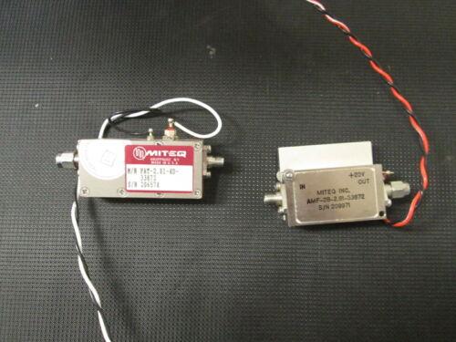RF Amplifier Miteq S band qty. 2