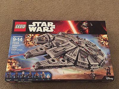 Lego Star Wars Millennium Falcon The Force Awakens 75105 6 minifigures