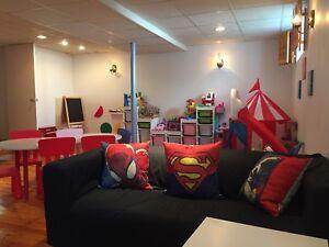 Garderie superhero places disponibles