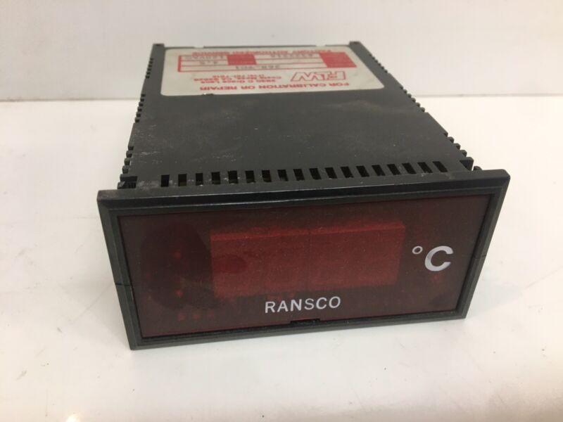 Ransco Vintage Lab Equipment Calibration Thermometer