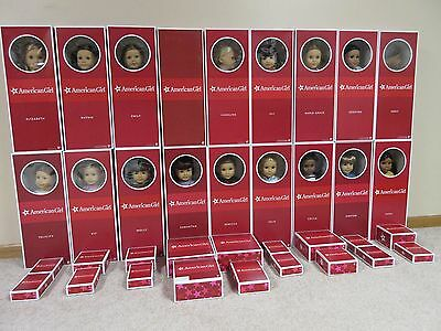 American Girl Classic Historical Doll Collection Lot  All 18 with Access  NRFB