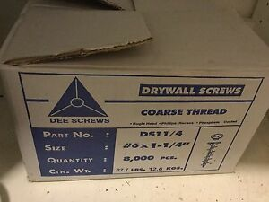 Drywall Screws Coarse Thread