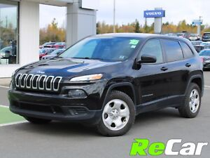2015 Jeep Cherokee Sport 4X4 | HEATED SEATS | BACK UP CAM