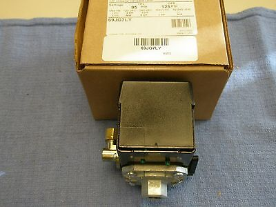 Furnashubbell 69jg7ly Air Compressor Pressure Switch 95-125psi Old 69mc7ly