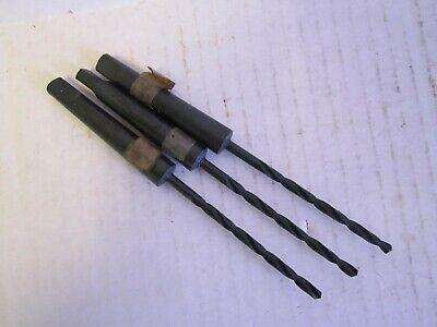 Lot Of 3 1164 Taper Shank Drill Bits Hss 1mt New