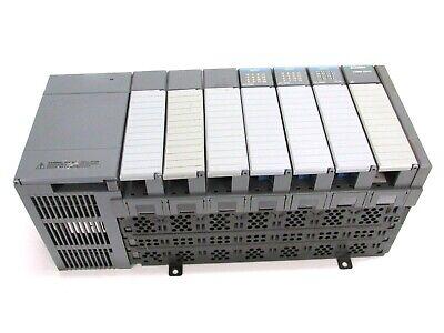 Allen Bradley Slc500 1746-a7 7-slot Rack Ser. B W Power Supply Input Scanner
