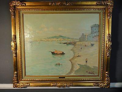Armando Busk Altes Ölgemälde Ölbild Malerei Italien um 1940
