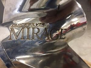 Quicksilver Mirage Stainless Steel Props