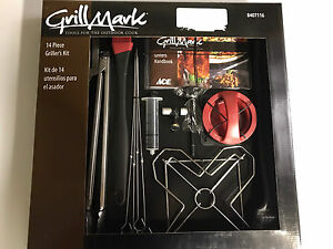 Brand new 14 piece grill set