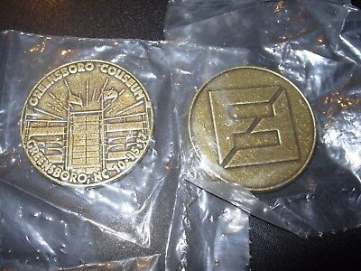 FOO FIGHTERS Concert Tour Coin GREENSBORO 10-15-17 2017