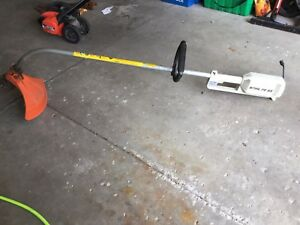 Stihl weed trimmer - electric