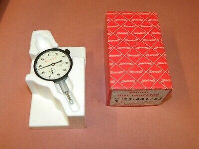 Starrett Dial Indicator 25-4415j Grad .001 Rebranded New In Box