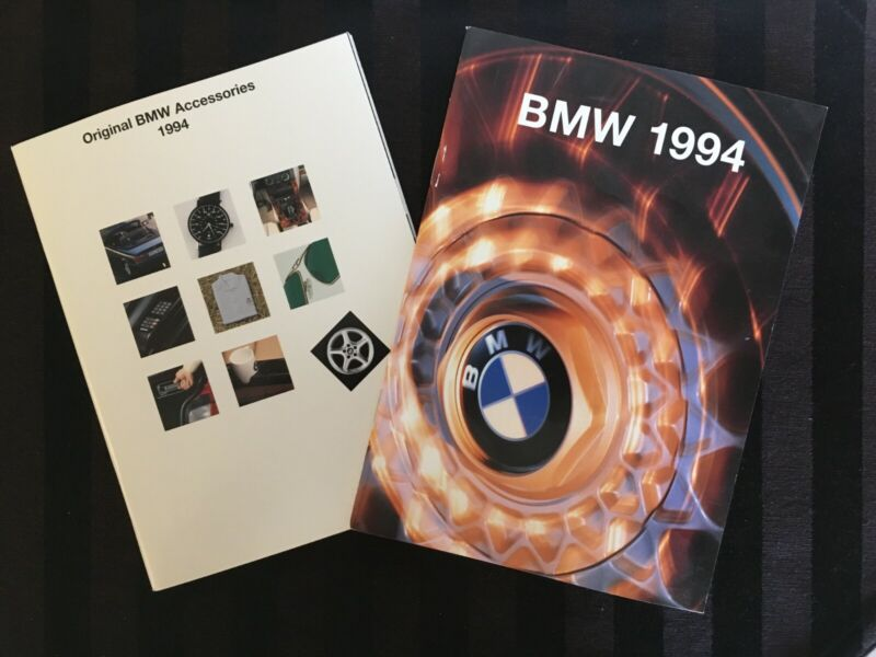 1994 BMW Brochure + OEM Accessories Catalog