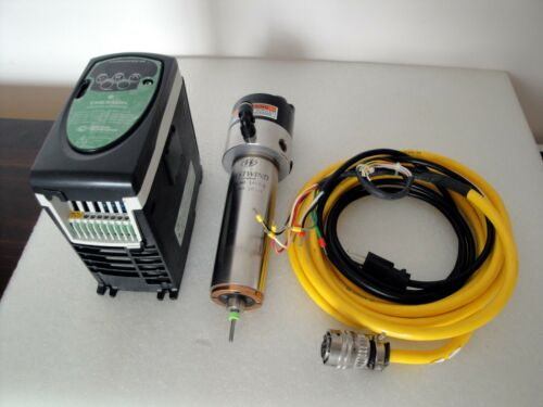 WESTWIND SPINDLE MOTOR & EMERSON HIGH FREQUENCY ADJUSTABLE CONVERTER