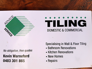 Kevin warneford tiling Warnbro Rockingham Area Preview
