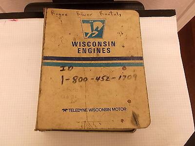 Wisconsin Gasoline Engine Service Parts Catalog Ttp 20134