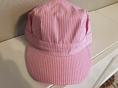 Adult Conductor Hat (Engineer/Conductor Cap/Hat- -PINK- adjustable -Adult or Child-NEW)