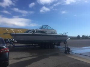 28 foot boat and trailer
