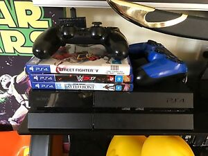 PS4 2 Controllers 3 Games Bonnells Bay Lake Macquarie Area Preview