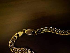 10k White Gold Necklace Men's Capital Hill South Canberra Preview