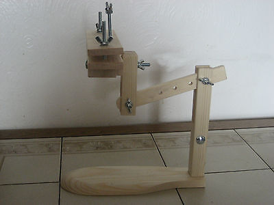 NEW ITA CROSS STITCH SIT ON LAP STAND & CLAMP, also for EMBROIDERY, TAPESTRY
