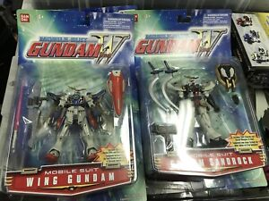 GUNDAM WING ACTION FIGURES NIB