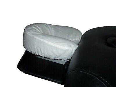 Spannbezug Kopfstütze Bezug Massageliege Behandlungsliege Baumwolle weiß NEU