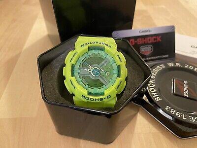 Casio G-Shock Green W.R 20 Bar Mens watches brand new