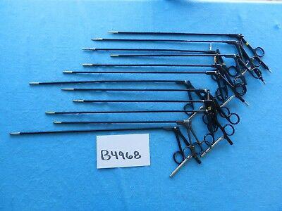 Storz V. Mueller Jarit Surgical 5mm Laparoscopic Graspers Lot Of 12